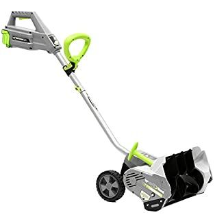 Earthwise SN74016 40-Volt Cordless Electric Snow Shovel, Brushless Motor, 16-Inch width, 300lbs/Minute (Battery and Charger Included) (B073V482GX) | Amazon price tracker / tracking, Amazon price history charts, Amazon price watches, Amazon price drop alerts