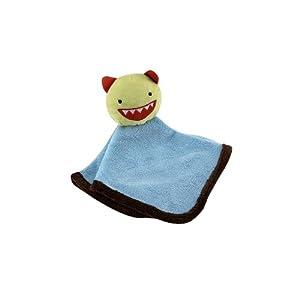 Roar Monster Baby Security Blanket – Blue