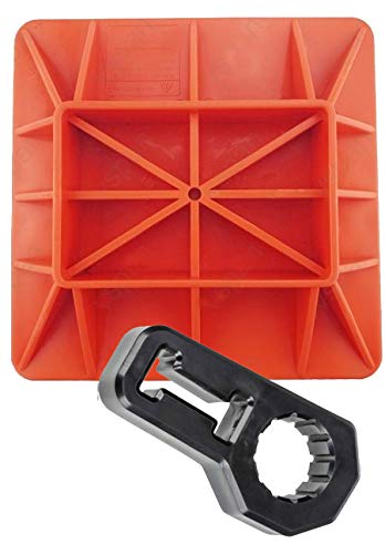 Offroading Gear Base & Handle Bar Protector for Hi-Lift/Farm Jack/Big Red/etc.