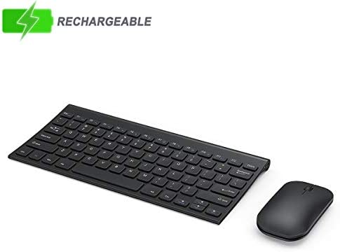 Wireless Keyboard Compact Rechargeable Compatible product image
