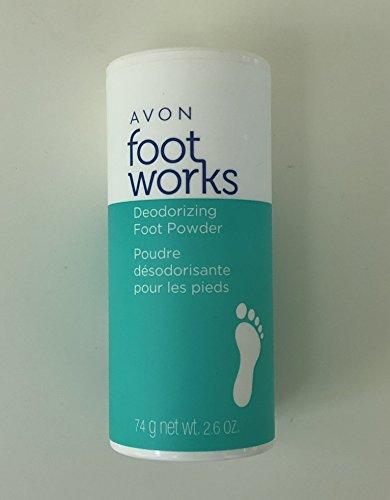 Avon Foot Works Healthy Deodorizing Foot -