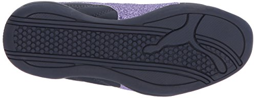 PUMA Girls' Tune Cat 3 Glam Sneaker, Peacoat-Purple Rose, 3.5 M US Big Kid by PUMA (Image #3)