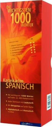 Die wichtigsten 1000 Wörter. Spanisch: Karteikarten Wortschatz