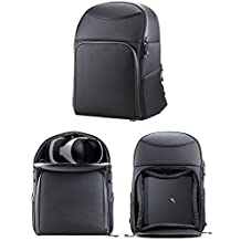 Navitech Rugged BlackBackpack / Rucksack / Case For the PS4 Pro and the PSVR combination