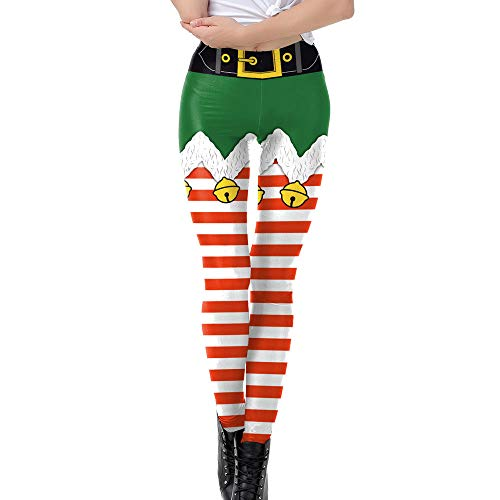 Used, WOCACHI Final Clear Out Christmas Womens Leggings Xmas for sale  Delivered anywhere in USA