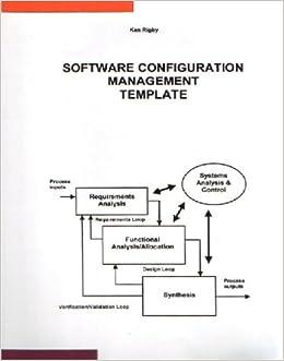 Software configuration management template amazon ken rigby software configuration management template amazon ken rigby 9781904504030 books ccuart Image collections