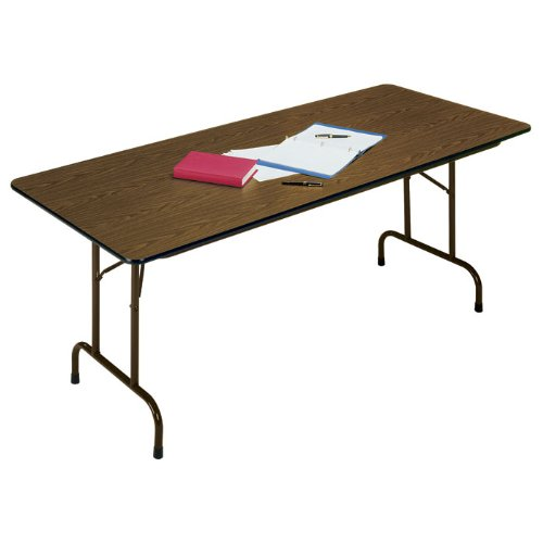 Correll Folding Table With Melamine Top - 60X30