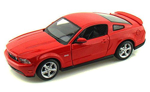 (Maisto Ford Mustang GT, Red 34209 - 1/24 Scale Diecast Model Toy Car, but NO Box)