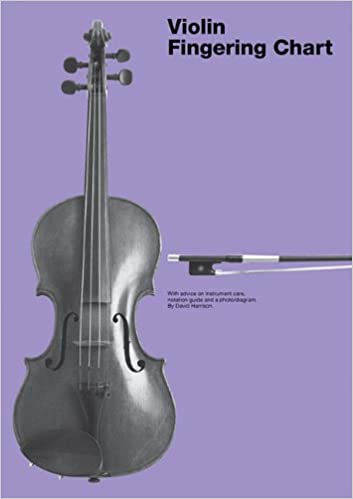 AmazonCom Violin Fingering Chart  David Harrison