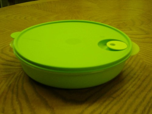 Tupperware Crystalwave Divided Luncheon Dish Green