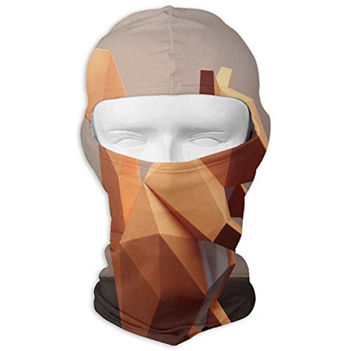 LoveBea Balaclava DIY Squirrel Full Face Masks Ski Sports Cap Motorcycle Hood for Cycling Sports Mountaineering ()