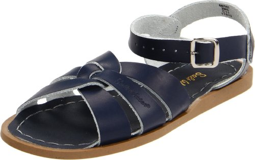 Salt Water Sandals by Hoy Shoe Original Sandal (Toddler/Little Kid/Big Kid/Women's),Navy,3 M US Toddler (Salt Water Sandals Size 3 compare prices)
