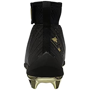 Under Armour Men's Harper 2 Mid ST - Limited Edition, Black (001)/Metallic Gold, 11