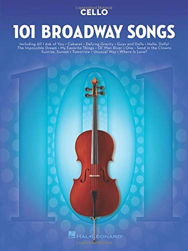 101 Broadway Songs for Cello ()