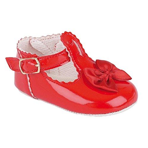 Bahía Pods esdiamondp primer Walking zapatos con detalle de diamantes en la parte delantera. Color rosa Talla:Size 3