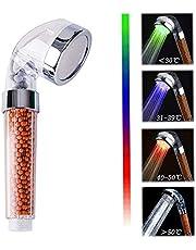 Duschkopf LED SPA Handbrause Anion Filter Wassereinsparung
