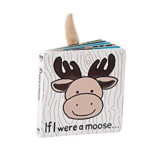 Jellycat If I were a Moose Baby Board Book 6 inches