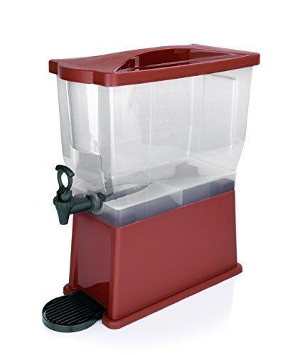 Gastro Distribuidor de Bebidas 14 Liter Ideal para Zumo Leche té o Agua con Grifo recipientes