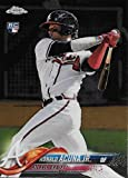 #4: 2018 Topps Chrome #193 Ronald Acuna Jr. NM-MT RC