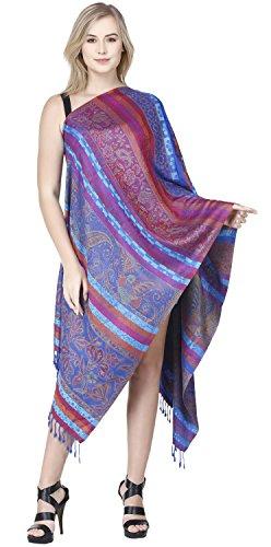 SKAVIJ Fashion Scarf for Women Soft Viscose Scarve Shawls for Evening Party Wrap