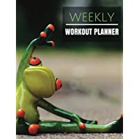 Weekly Workout Planner: With Calendar 2018-2019 Weekly Workout Planner ,Workout Goal , Workout Journal Notebook Workbook size 8.5x11 Inches Extra Large Made In USA