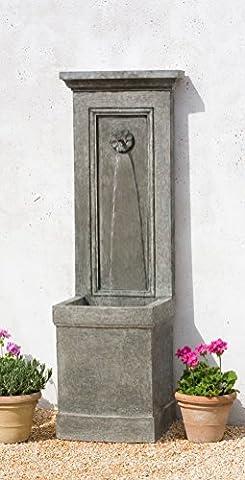 Campania International FT-123-CB Auberge Fountain, Copper Bronze Finish - Stone Copper Fountain