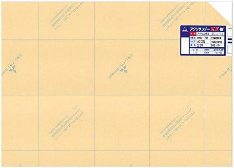 アクリサンデー アクリサンデーEX板 A3 厚み2ミリ 白 EX402