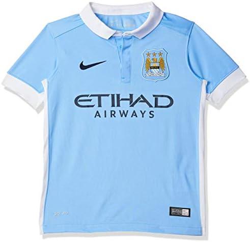 NIKE Manchester City Home Stadium 2015/2016 Kids Camiseta de Manga Corta, niño: Amazon.es: Ropa y accesorios