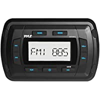 Pyle PATVR10 Pyle Marine Bluetooth Radio Receiver, Water Resistant Stereo Head unit, MP3/USB/AUX