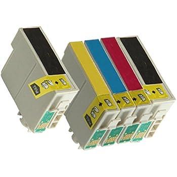 Inktoneram Remanufactured Ink Cartridges High CapacityReplacement for 127 (2xBlack, Cyan, Magenta, Yellow, 5-Pack)