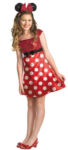 Minnie Mouse Tween Costume - (Minnie Mouse Costumes For Tweens)