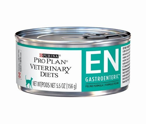 Purina Veterinary Diets EN Gastroenteric Feline Formula Canned Cat Food 24 5.5 oz