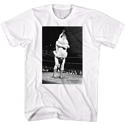 Andre The Giant WWE Shake Down Adult T-Shirt Tee by 2Bhip