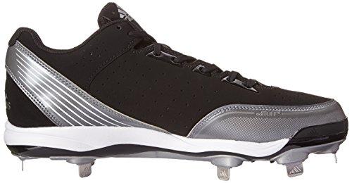 Adidas Performance Heren Poweralley Metal Low Baseball Cleat Core Zwart / Running White / Neo Iron