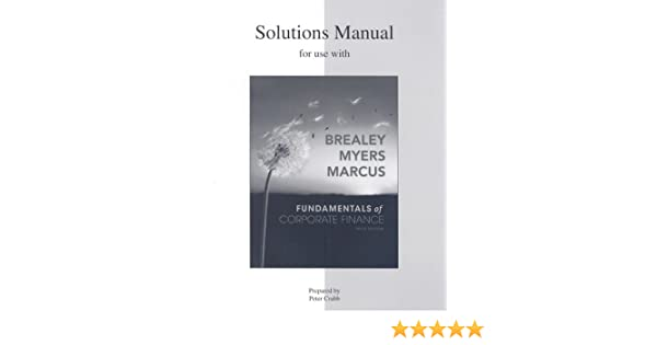 Amazon solutions manual to accompany fundamentals of corporate amazon solutions manual to accompany fundamentals of corporate finance 9780077265960 richard brealey books fandeluxe Image collections
