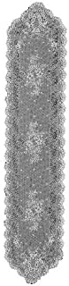 product image for Heritage Lace Floret 14-Inch by 72-Inch Runner, White