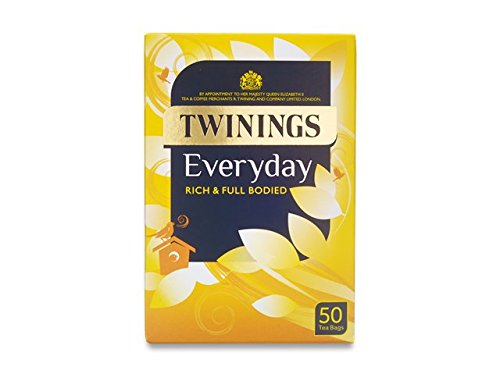 Twinings Everyday 50 Envelope Teabags 100g by Twinings
