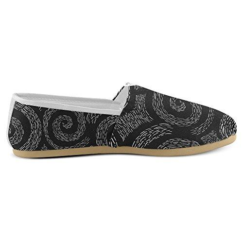 Stivali Da Donna Di Interestprint Design Unico, Comfort, Lace Up Stivali Spirale