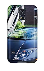 Perfect Fit BJMctZH4086Kjbzm Lamborghini Murcielago Lp6 Roadster Doors Up Case For Galaxy - S5