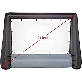 """Gemmy 44416 Airblown Movie Screen Deluxe Inflatable, Giant 173"""""""