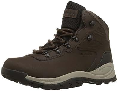 Columbia Women's Newton Ridge Plus Hiking Boot, Cordovan/Crown Jewel, 5 M US