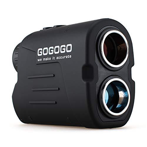 - Gogogo Sport Laser Golf/Hunting Rangefinder, 6X Magnification 650/900 Yards Laser Range Finder, Accurate Range Scan, Slope Distance Correction, Pin-Seeker & Flag-Lock,Tournament Legal Golf Rangefinder
