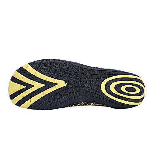 PINYOU, Scarpe da immersione uomo, giallo (Yellow), 40 EU