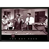 The Rat Pack Lamina Framed Poster Print, 35x25