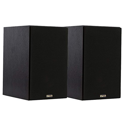 Klipsch R 14M Bookshelf Speakers And Powergate Amplifier