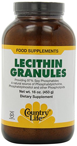 Country Life Lecithin Granules, 16-Ounce by Country Life