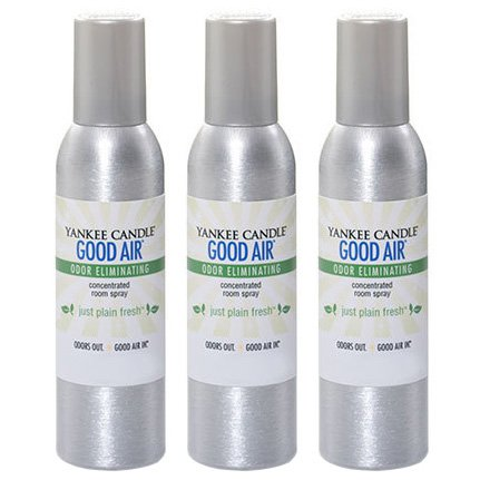 Yankee Candle Concentrated Room Spray 3-PACK (Just Plain Fresh)