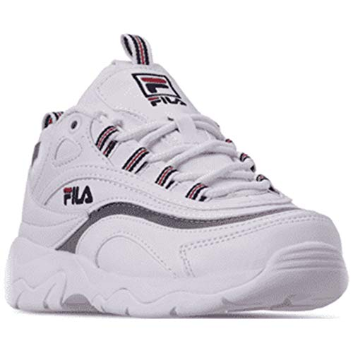 - Fila Kid's Ray Tracer Sneakers (5.5 M US, White/Navy)
