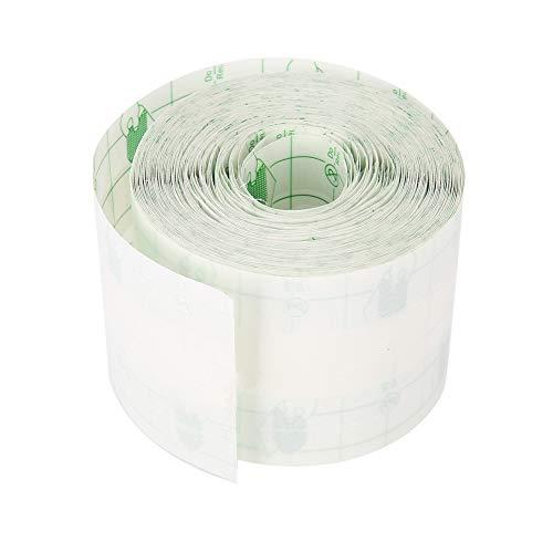 TMISHION Cinta Impermeable, fijador Adhesivo Transparente fijador de heridas de Yeso(5cm * 10m)