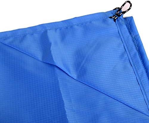 DaoRier 200 x 140 cm Manta de Picnic Alfombrilla Colch/ón para al Aire Libre Camping Playa Senderismo Jard/ín Estera Alfombra Impermeable Plegable